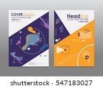 business brochure flyer design... | Shutterstock .eps vector #547183027