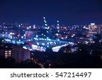 abstract blur crane... | Shutterstock . vector #547214497