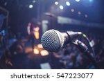 microphone    Shutterstock . vector #547223077