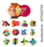 abstract background  geometric... | Shutterstock . vector #547265743