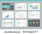 page layout design template for ... | Shutterstock .eps vector #547266577