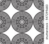 seamless african pattern with... | Shutterstock .eps vector #547295683