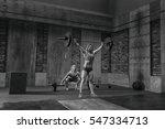 weightlifting | Shutterstock . vector #547334713