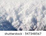 White Fresh Winter Snow...