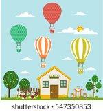 balloons performance theme nice ... | Shutterstock .eps vector #547350853
