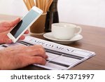 searching for a new job or... | Shutterstock . vector #547371997