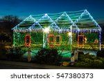 view of a house made out of... | Shutterstock . vector #547380373