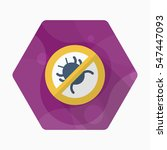 debug icon   vector flat long... | Shutterstock .eps vector #547447093