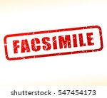 illustration of facsimile text... | Shutterstock .eps vector #547454173