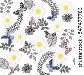beautiful seamless pattern with ...   Shutterstock .eps vector #547477783