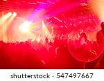 rock show  req audience | Shutterstock . vector #547497667