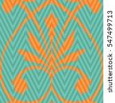seamless abstract ornamental... | Shutterstock .eps vector #547499713