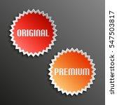 original   premium special... | Shutterstock .eps vector #547503817