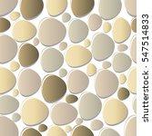 Seamless Pattern Pebble Stone...