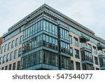exterior of modern office... | Shutterstock . vector #547544077