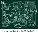 communication and internet... | Shutterstock .eps vector #547556443