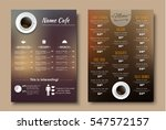 design menus for a restaurant ... | Shutterstock .eps vector #547572157