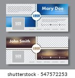 banner design for the social... | Shutterstock .eps vector #547572253
