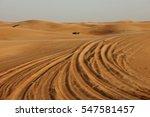 Sand Dunes Desert Tracking...