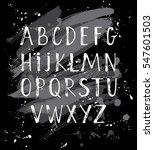 modern hand written calligraphy ... | Shutterstock .eps vector #547601503