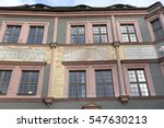 renovated historic houses in... | Shutterstock . vector #547630213