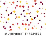 scattered diamond shapes... | Shutterstock .eps vector #547634533