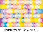 printabstract direction arrows... | Shutterstock .eps vector #547641517