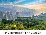 Magical Scene At Zhangjiajie...