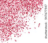 Scarlet Explosion Of Confetti...