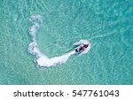 people are playing a jet ski in ... | Shutterstock . vector #547761043