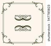 decorative frame   Shutterstock .eps vector #547785823
