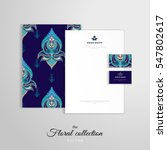 vector identity templates.... | Shutterstock .eps vector #547802617