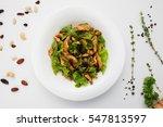 Warm Chicken Salad On Kitchen...