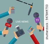 vector illustration of live... | Shutterstock .eps vector #547849753