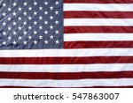 closeup of stars and stripes... | Shutterstock . vector #547863007