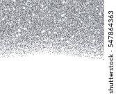 silver glitter texture border...   Shutterstock .eps vector #547864363