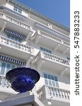apartments in cannes in white... | Shutterstock . vector #547883233