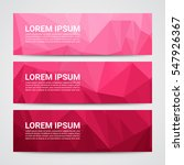 set of modern design banners... | Shutterstock .eps vector #547926367