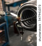 Small photo of Braze welding process in a metalworking company.