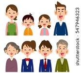 family smile | Shutterstock .eps vector #547946323
