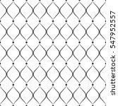 vector seamless monochrome... | Shutterstock .eps vector #547952557