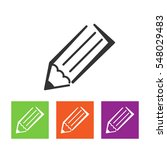 pencil icon illustration.