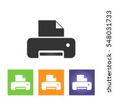 printer icon  illustration....
