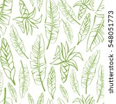 tropical trendy seamless...   Shutterstock .eps vector #548051773