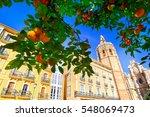 valencia  spain plaza de la...   Shutterstock . vector #548069473