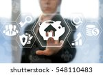 real estate business house for...   Shutterstock . vector #548110483