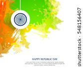 vector illustration of republic ... | Shutterstock .eps vector #548156407