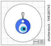 Eye Shaped Amulet Nazar Icon