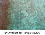 Background Oxidised Copper Sheet