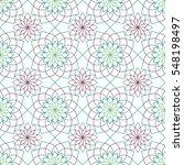 Geometric Monoline Stylized...